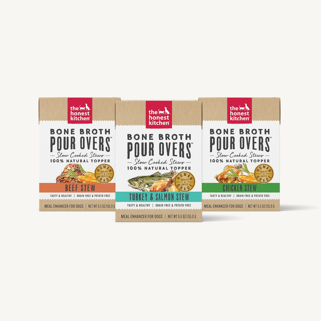 Honest Kitchen Bone Broth Pour Overs Dog Food