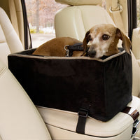 Luxury Microfiber Console Dog Car Seat