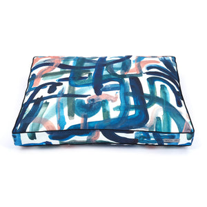 Brushstroke Pillow Dog Bed