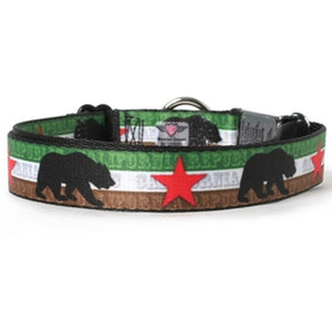 California Flag Dog Collar