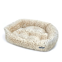 Cheetah Plush Napper Pet Bed