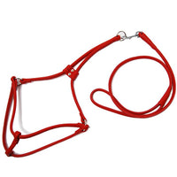 Soft Leather Step In Dog Harness