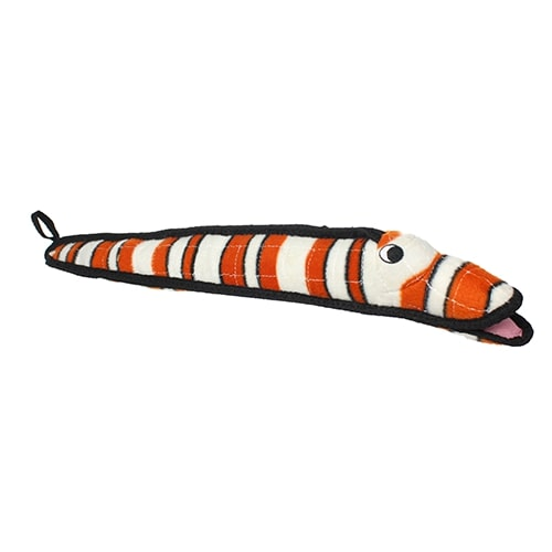 Striped Eel Extra Tough Dog Toy