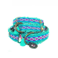 Finn Woven Canvas Dog Collar