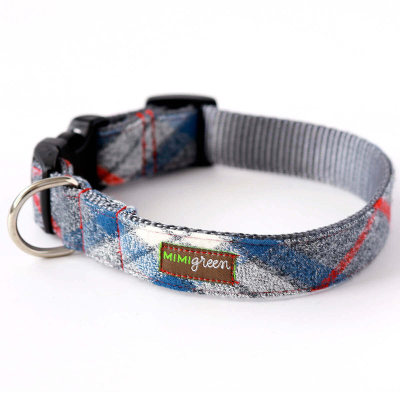 Flannel PJs Dog Collar