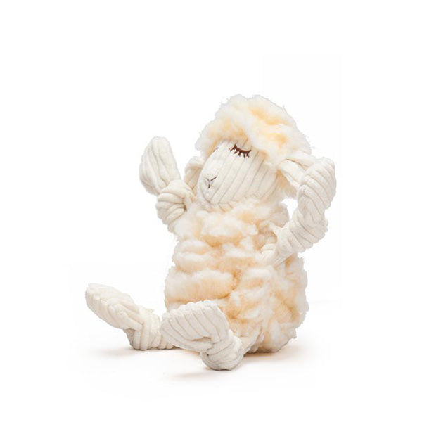Fluffer-Knottie® Louise the Lamb Dog Toy