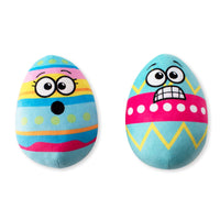 Funny Face Easter Egg Dog Toy