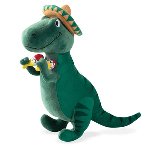 Fiesta Dinosaur Plush Dog Toy