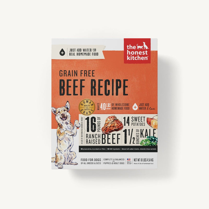 Honest Kitchen Love Beef Dehydrated Dog Food - Muttropolis
