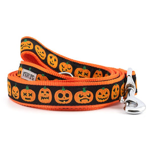 Jack-O'-Lantern Dog Leash