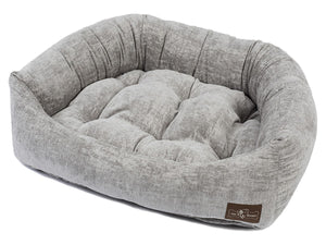 Tuscany Plush Velour Napper Pet Bed