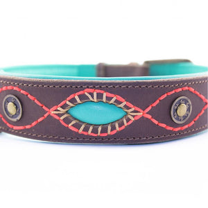 Joplin Leather Dog Collar