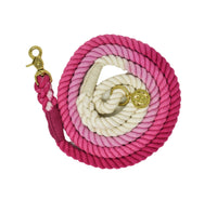 Organic Cotton Hand Dyed Rope Dog Leash