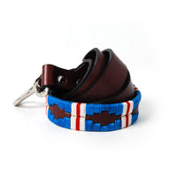 Pacific Woven Leather Dog Leash