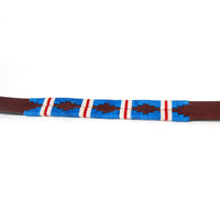 Pacific Woven Leather Dog Collar