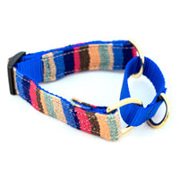 Woven Martingale Dog Collar