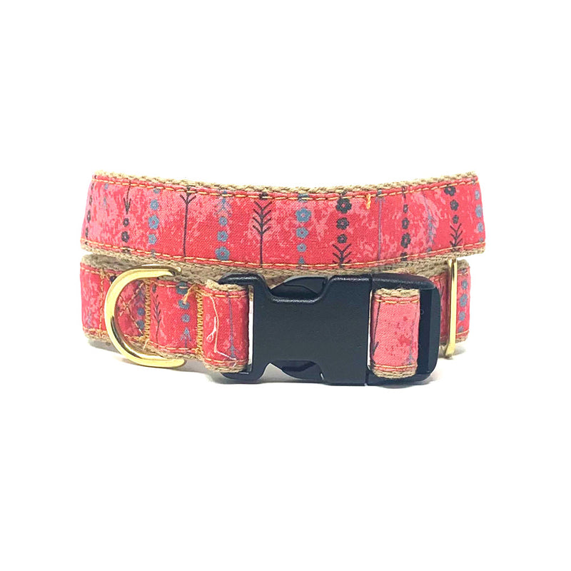 Pink Arrows Dog Collar
