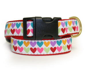 Pop Hearts Dog Collar