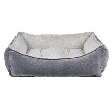 Pumice Microvelvet Scoop Dog Bed