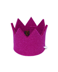Wool Felt Crown Dog Hat