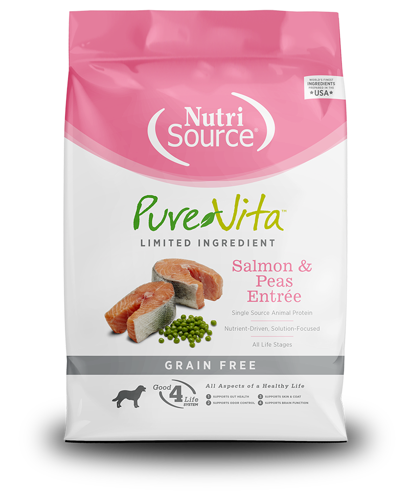 PureVita™ Salmon & Peas Entrée Grain Free Dog Food - Muttropolis