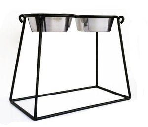 Pyramid Double Diner Pet Feeder