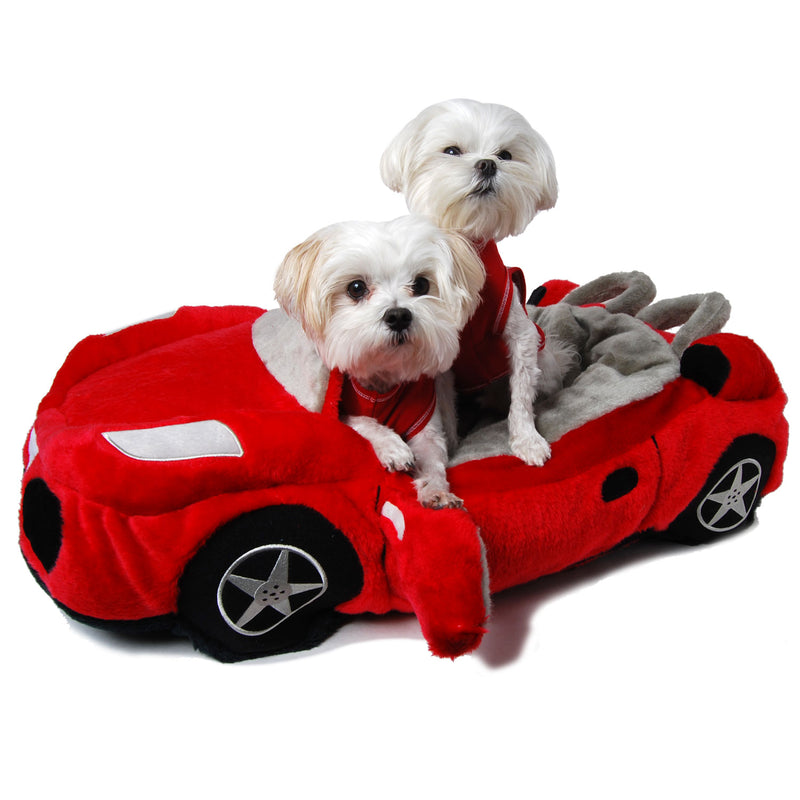 Red Furrari Dog Bed