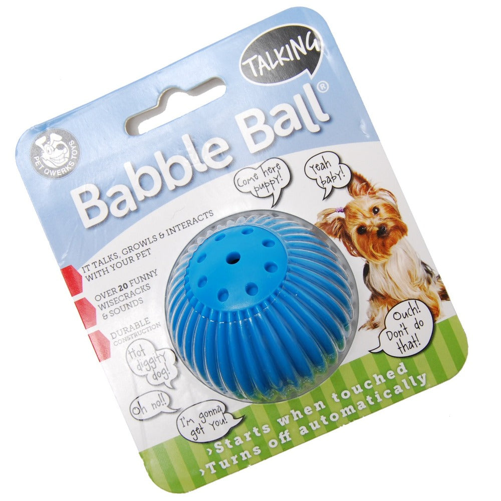 Babble Ball Interactive Dog Toy