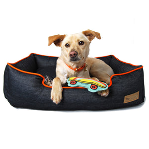 Denim Urban Lounge Dog Bed