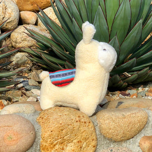 Plush Llama Dog Toy