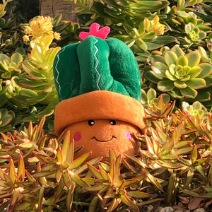 Plush Cactus Dog Toy