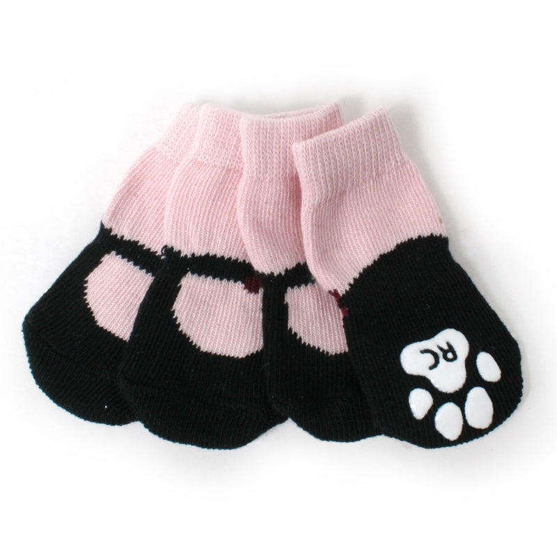 Mary Janes Anti-Slip Dog Socks