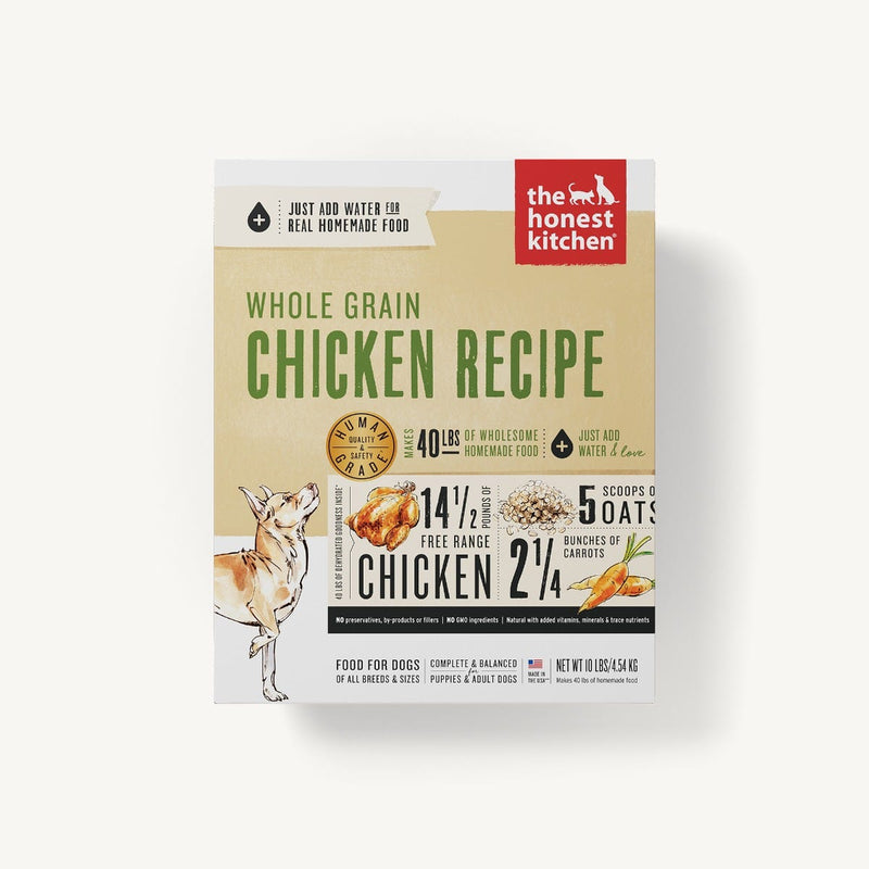 Honest Kitchen Revel Dehydrated Whole Grain Chicken Dog Food - Muttropolis