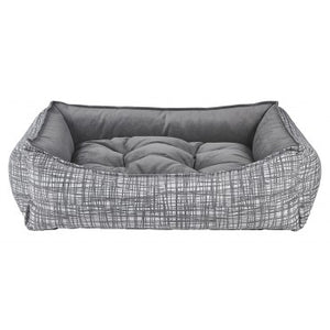 Tribeca Microvelvet Scoop Dog Bed