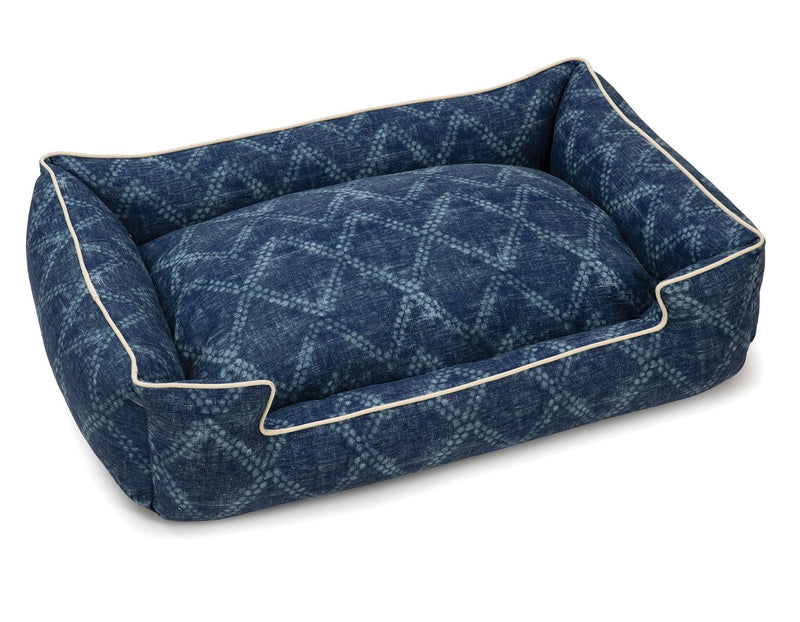 Shibori Lounge Pet Bed