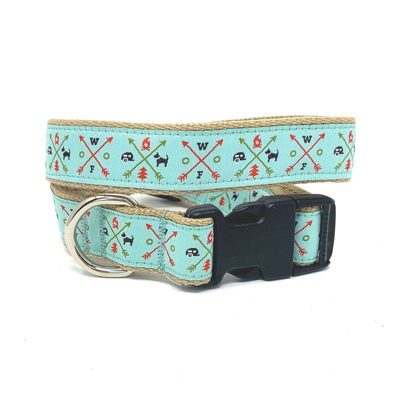 Summer Camp Dog Collar