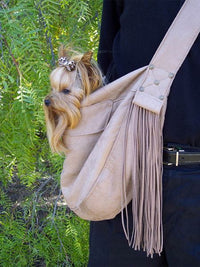 Fringe Cuddle Cup Dog Carrier