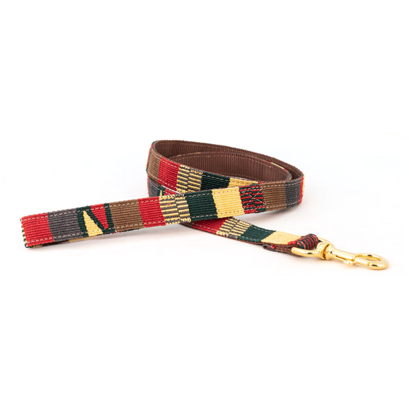 Traditional Earth Woven Dog Leash