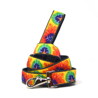 Tie Dye Hemp Dog Leash