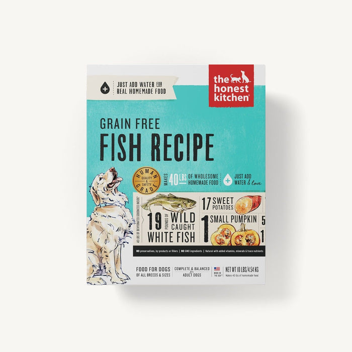 Honest Kitchen Zeal Dehydrated Grain Free Fish Dog Food