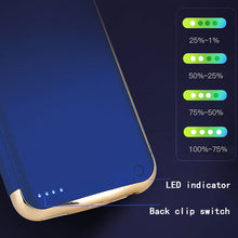 Load image into Gallery viewer, Ultra Thin Power Bank Case for iPhone