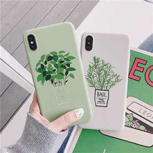 Green Plant iPhone Case