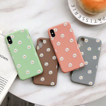 Load image into Gallery viewer, Give your phone a cute upgrade and keep it protected with the daisy phone case from our new collection.