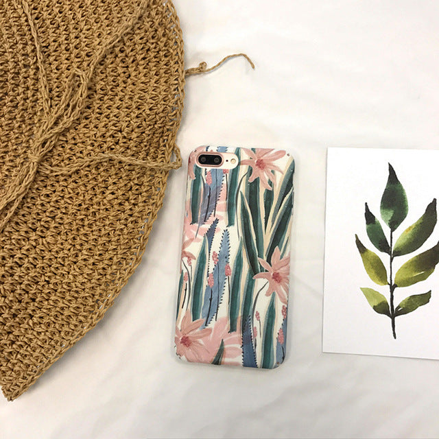 Tropical Design iPhone Case
