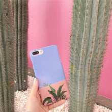 Load image into Gallery viewer, Tropical Vibes Design iPhone Case