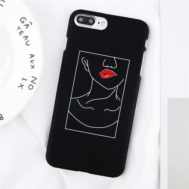 iPhone Case with Cartoon