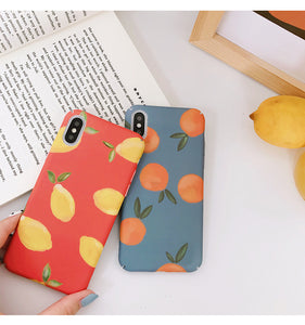 iPhone Case with Fruit Design