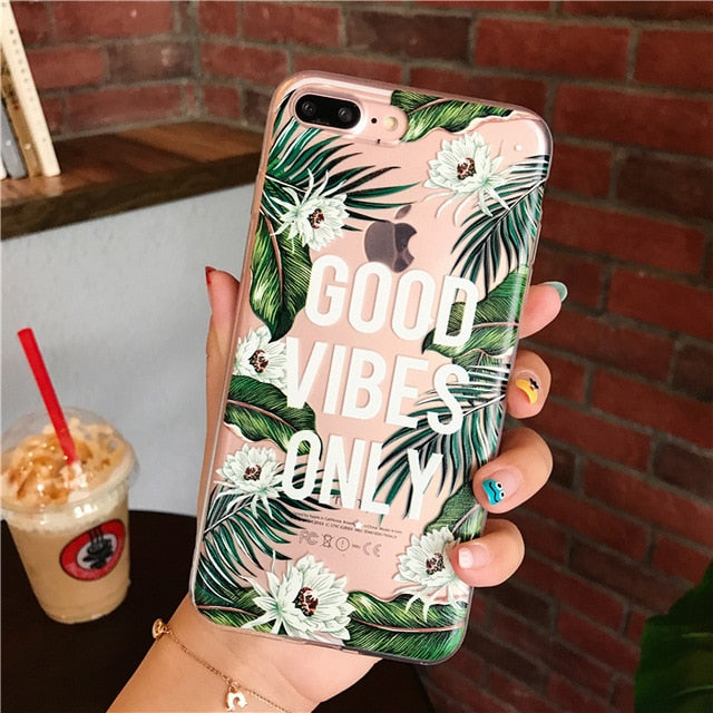 Good Vibes Only Phone Case for iPhone