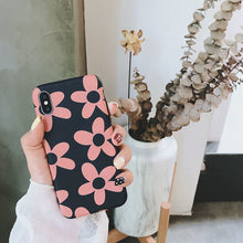 Load image into Gallery viewer, Pink Flower Design iPhone Case