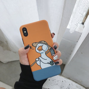 Funny Duck Design IPhone Case